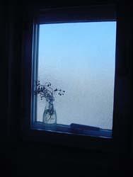 トイレの窓。