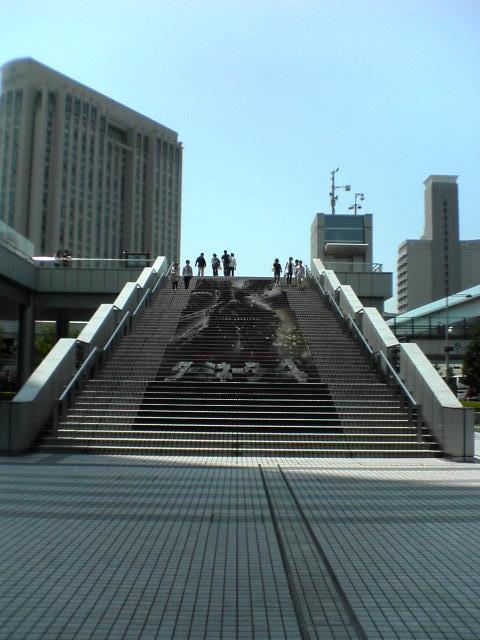 ターミネーター4フジテレビ階段
