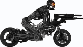 Moto-Terminator Tバイク:モトターミネーター裏話