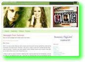 Summer Glau ホームページ
