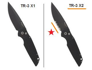 Protech TR3 X2 and X1 difference
