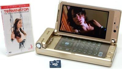 ワーナー MovieSD 携帯コンテンツ サラコナー Sarah Connor Chronicles