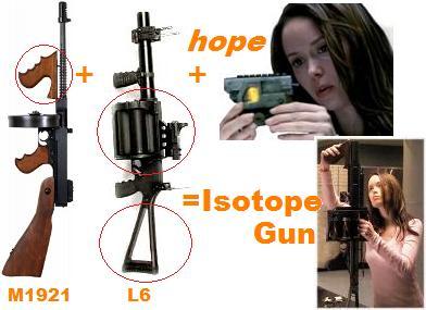 ターミネーター 銃 Isotope L6 Grenade Launcher