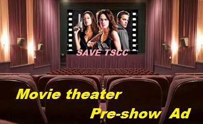 映画館でSave TSCC サラ・コナー・クロニクルズ 広告上映