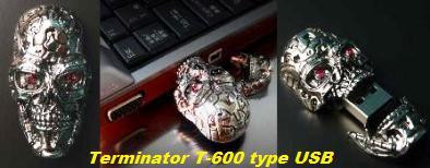 ターミネーターT-600型USBメモリ Terminator USB memory