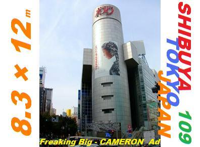 Terminator Sarah Connor Chronicles Cameron Ad JAPAN TOKYO