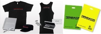 Tシャツ、アクロバットペン,タンクトップ、Plastic Bag、ターミネーターグッズ