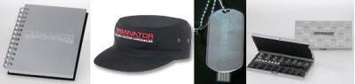 キャップ、帽子、リングノート、トラベル チェス、USBメモリー