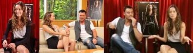 Summer Glau Brian Austin Green Interview video 動画 画像