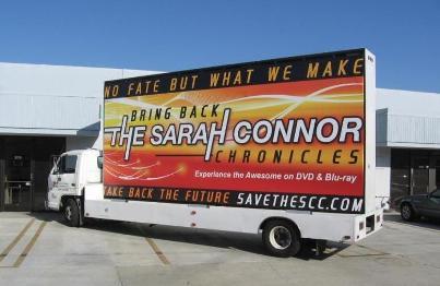 ビルボード・キャンペーン トラック ターミネーター サラ コナー クロニクルズ