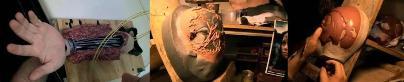 キャメロンTOK715の手と頭 骨格写真