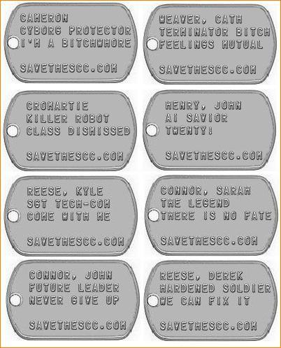 TSCC DOGTAGS 認識票