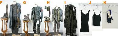 衣装 マーカス・ライト カイル・リース Terminator Auction