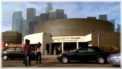 Security Trust of Los Angeles LA ターミネーター銀行