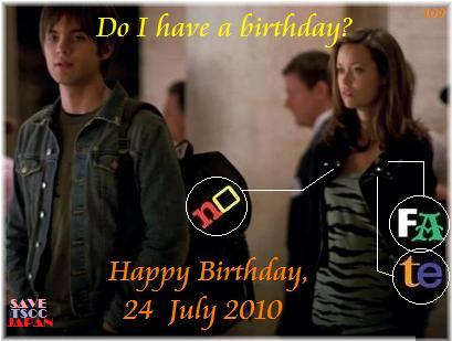 No Fate summer glau birthday