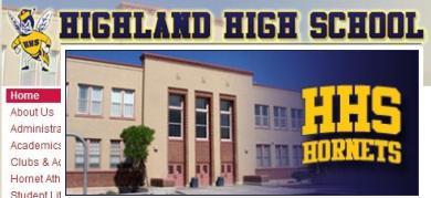 ハイランド高校 アルバカーキ ニューメキシコ