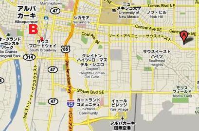 ターミネーター サラ・コナー 高校 地図