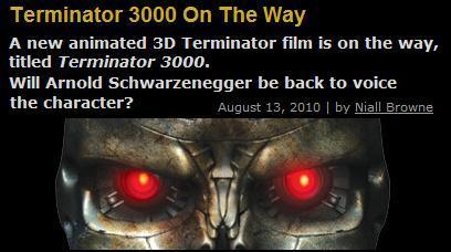ターミネーター 3000 Terminator 映画