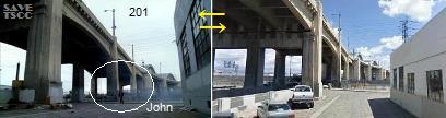 ターミネーター TSCCの橋 用水路