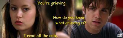 grieving 死を悼むの意味