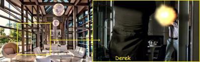 Derek shot by HK USP