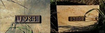 カイルとデレク・リースの墓