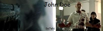 John Doe ジョン・ドウ セブン