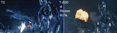 T800 Plazma Rifle Gun