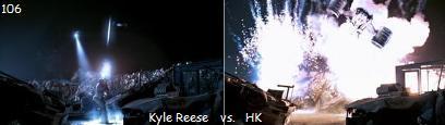 カイル・リース 対 HK ハンターキラー