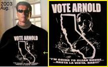 アーノルドに投票を!