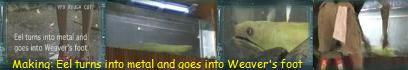 隠れキャラ・ウツボと液体金属