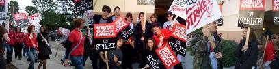 全米脚本家組合ストライキによるターミネーター中断