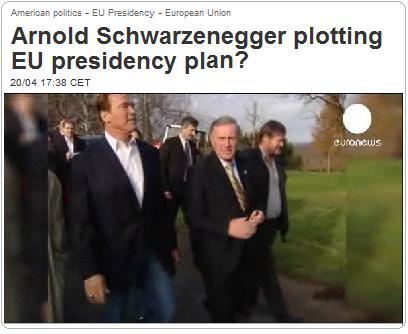 シュワルツェネッガーEU大統領に