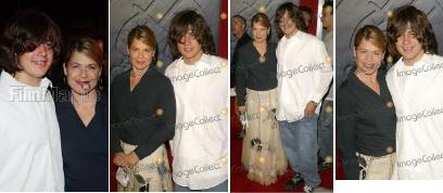 リンダハミルトンと息子のダルトン