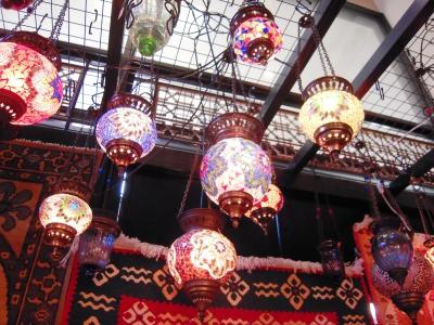 トルコ製ランプ