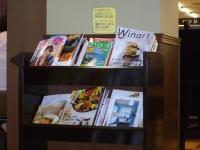 読める本のコーナー