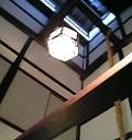 大黒屋内部、天井