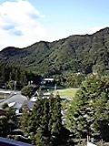 ホテル部屋からの眺め