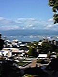 旧函館区公会堂前から函館港