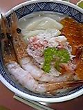 朝食の海鮮丼