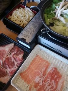お昼のしゃぶしゃぶ定食