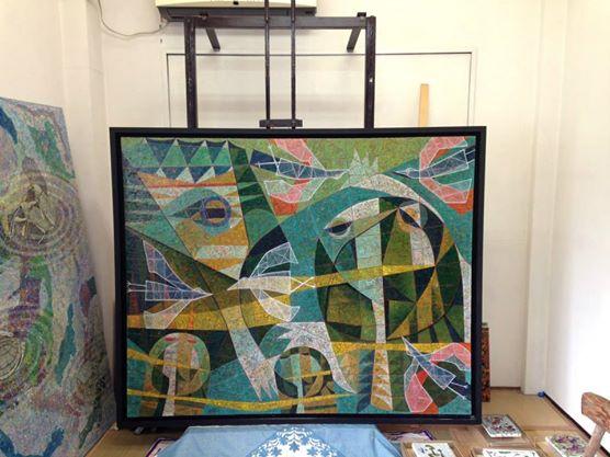 ノアギャラリーのプロモーションを兼ねて鈴木貴子先生のアトリエ・絵画教室へお邪魔してきました。