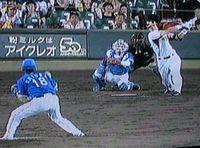 三浦投手の粘投も実らず・・・・・