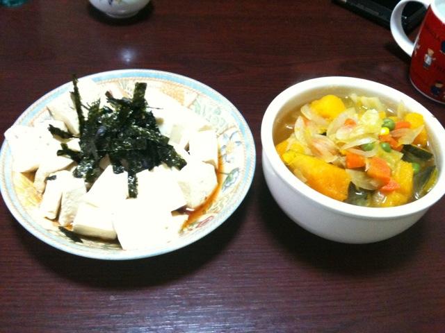 豆腐ダイエット三日目
