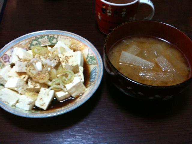 豆腐ダイエット四日目