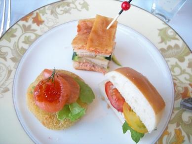 アフタヌーンティー サンドイッチ