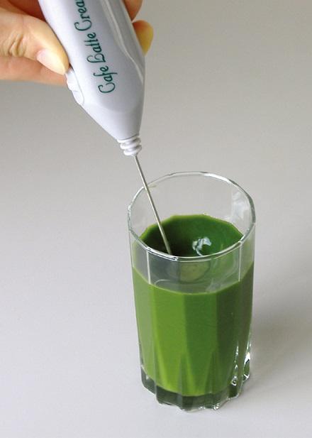 粉末青汁 電動クリーマー