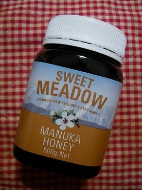 マヌカハニー sweet meadow