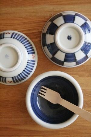 砥部焼・梅山窯:三寸玉縁鉢