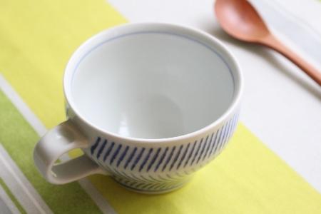 砥部焼・中田窯:スープカップ